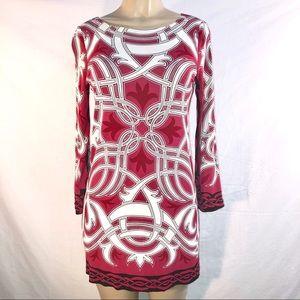 Nicole Miller stretch tunic dress